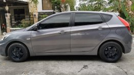 Grey Hyundai Accent 2016 for sale in Automatic