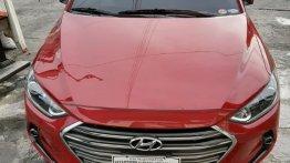 Selling Red Hyundai Elantra 2016 in Manila