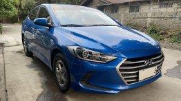 Blue Hyundai Elantra 2016 for sale in Muntinlupa