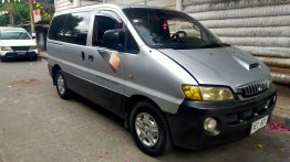 Silver Hyundai Starex 2001 for sale in Automatic