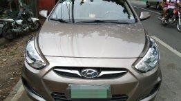 Sell Grey 2012 Hyundai Accent in San Lorenzo Ruiz