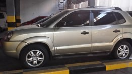 Silver Hyundai Tucson 2007 for sale in Automatic