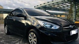 Selling Black Hyundai Accent 2019 in Manila