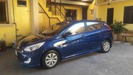 Blue Hyundai Accent 2016 for sale in Manila
