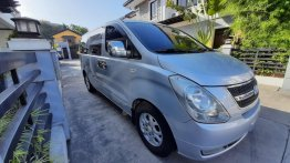 Selling Silver Hyundai Grand starex 2008 in Quezon City