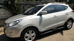 Silver Hyundai Tucson 2013 for sale in Bacoor