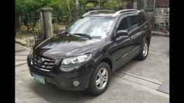 Black Hyundai Santa Fe 2010 SUV / MPV for sale in Manila