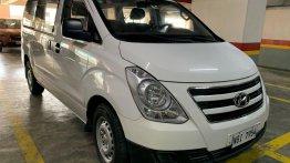 White Hyundai Grand starex 2017 for sale in Makati