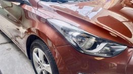 Bronze Hyundai Elantra 2013 for sale in Manila