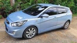 Blue Hyundai Accent for sale in Malolos