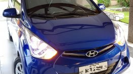 Blue Hyundai Eon 2017 for sale in Balagtas