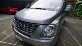 Grey Hyundai Starex 2015 for sale in Caloocan City