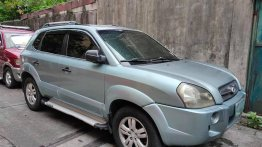 Sell Blue 2008 Hyundai Tucson in Manila