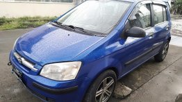 Selling Blue Hyundai Getz in Lemery