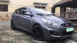 Grey Hyundai Accent 2016 for sale in Manila