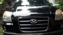 Black Hyundai Starex 2006 for sale in Parañaque