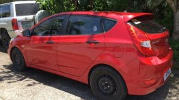Selling Red Hyundai Accent in Calamba