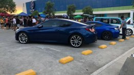 Sell Blue Hyundai Genesis in Plaridel
