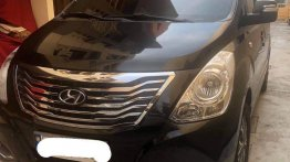 Black Hyundai Starex 2017 for sale in Petron