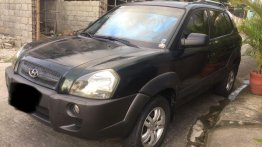 Green Hyundai Tucson 2.0 Gas AT 2007 for sale in Antipolo