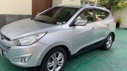 Silver Hyundai Tucson 2012 for sale in Quezon City