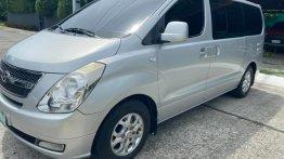 Grey Hyundai Grand starex 2015 Van for sale in Manila