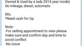 Black Hyundai Santa Fe 2014 for sale in Davao