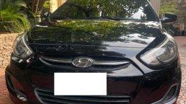 Sell Black 2016 Hyundai Accent in Manila
