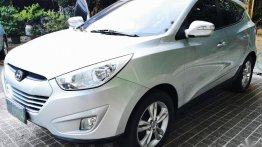 White Hyundai Tucson 2010 for sale in Caloocan