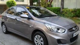 Grey Hyundai Accent 2018 for sale in Parañaque