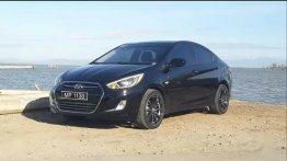 Black Hyundai Accent 2016 for sale in Quezon City