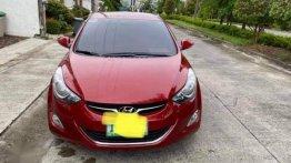 Selling Red Hyundai Elantra 2011 in Manila
