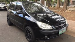 Black Hyundai Getz 2007 for sale in Manila