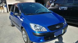 Blue Hyundai Getz 2007 for sale in Manila