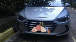 Silver Hyundai Elantra for sale in Quezon