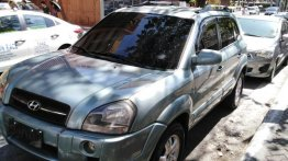 Sell Green 2007 Hyundai Tucson in Cavite