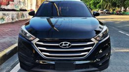 Black Hyundai Tucson 2019 for sale in Manila