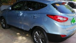 Sell Blue 2016 Hyundai Tucson in Marikina