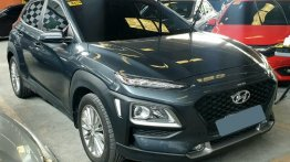 Grey Hyundai Kona 2019 for sale in Manila