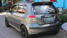 Silver Hyundai Getz 2005 for sale in Manila