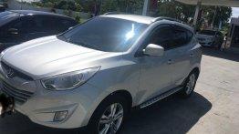 Silver Hyundai Tucson 2013 for sale in Batangas