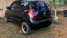 Black Hyundai I10 2009 for sale in Pasig