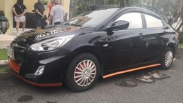 Black Hyundai Accent 2016 for sale in Manila