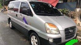 Selling Silver Hyundai Starex 2007 in Marikina