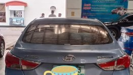 Clean Blue 2012 Hyundai Elantra for sale in Las Piñas