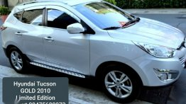 Selling White Hyundai Tucson 2010 in Manila