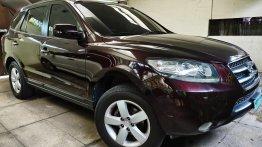 Purple Hyundai Santa Fe 2008 for sale in Quezon City