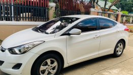 White Hyundai Elantra 2013 for sale in Antipolo