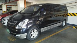 Black Hyundai Grand Starex 2008 for sale in Manila