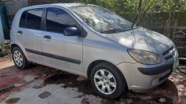 Silver Hyundai Getz 2007 for sale in Calamba